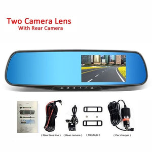 Dual Lens Car Camera Full HD 1080P - Two Camera Lens / China / Without Card