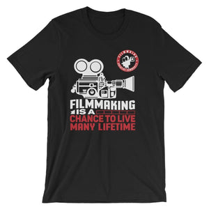 FILMMAKER Short-Sleeve Unisex T-Shirt - S