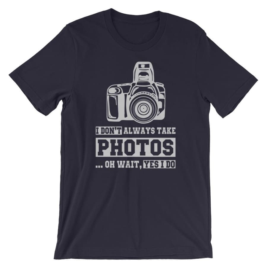 New Photographer Edition Unisex T-Shirt - Navy / XS