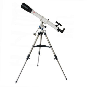 Professional 90070EQ-T Astronomy Telescope w/ Portable Equatorial Mount and Tripod Outdoor Refractive Astronomical Telescopio
