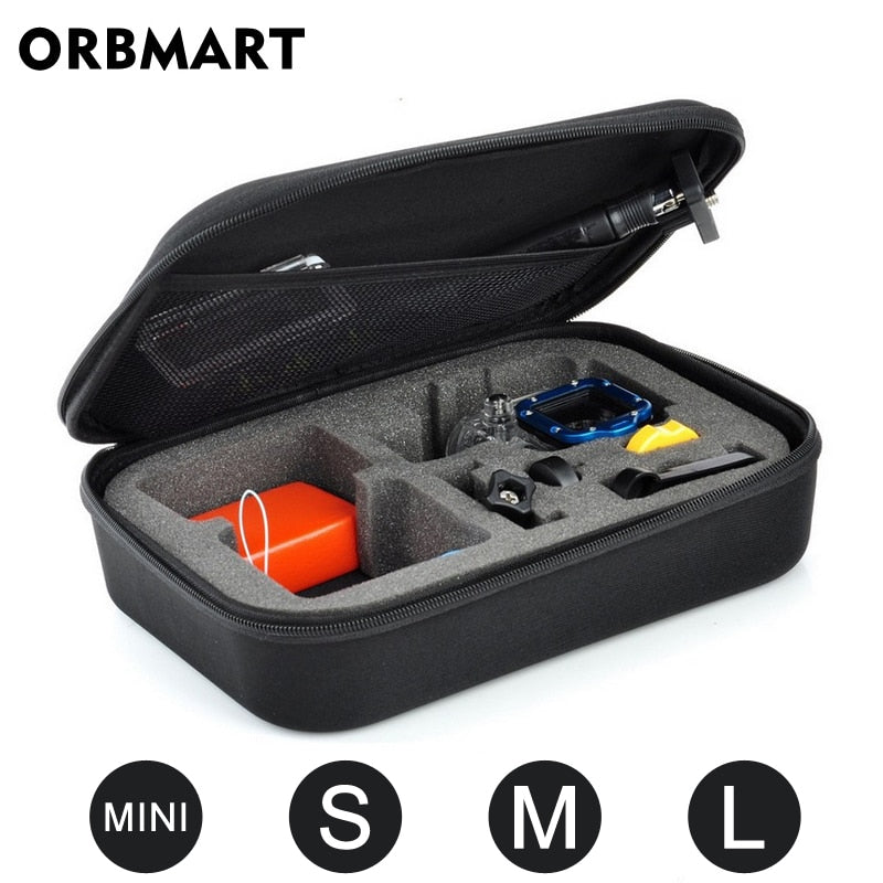 Sport Camera Portable Storage Case Collection Bag for GoPro Hero 8 7 6 5 4 Session SJCAM Xiaomi Yi 2 4K Mijia Go Pro Accessories