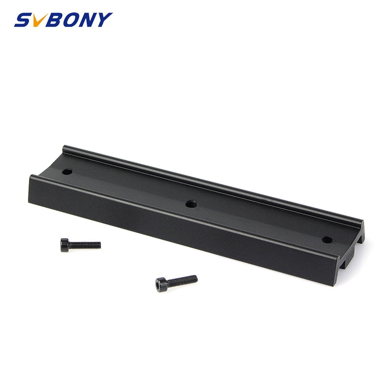 SVBONY Dovetail Telescope Mounting Plate 70/120/210mm for Equatorial Tripod Long Version Binocular/Monocular for Astronomy