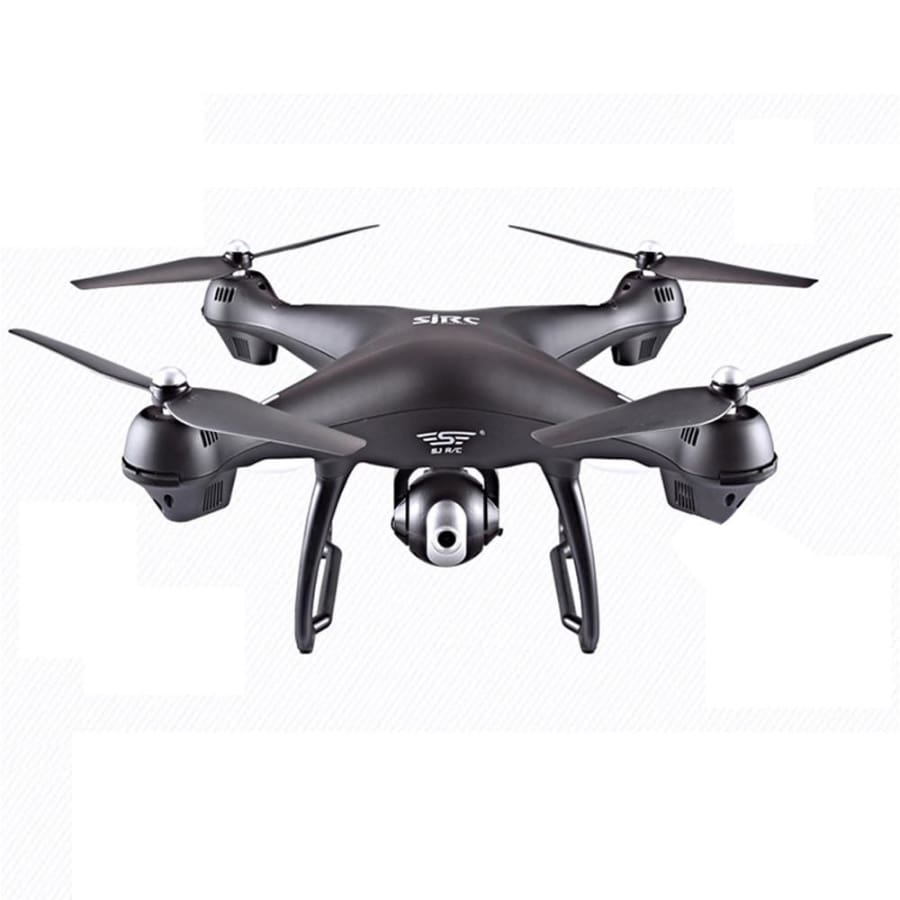 S70W 2.4GHz GPS FPV Drone Quadcopter with 1080P HD Camera Wifi Headless Mode - black - drone