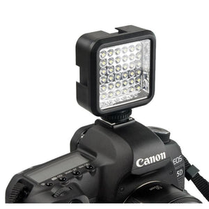 Wansen W36 LED Video Light Lamp lighting 6500K DC 3.7V 36 LEDs for Nikon Canon DV Camcorder Camera - camera light