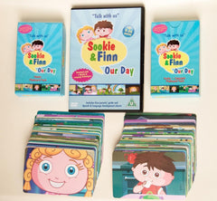 Sookie & Finn: Our Day DVD and Flashcard Set