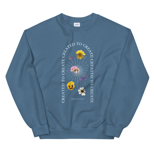created to create sweatshirt