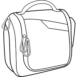 outline image of Toiletry bag