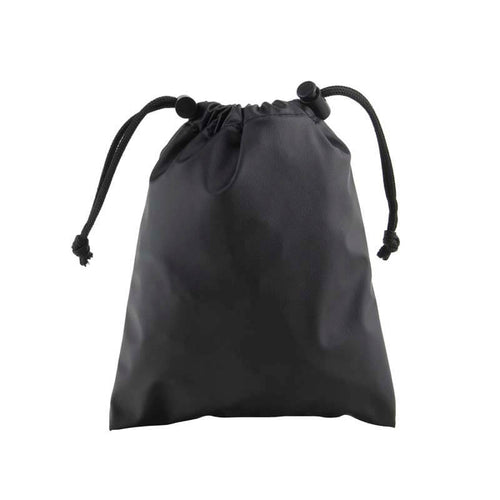 Drawstring Valuables Pouch with Drawstrings Closed
