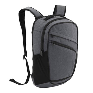 Left Angle of Pro Series Everyday Backpack, Gray