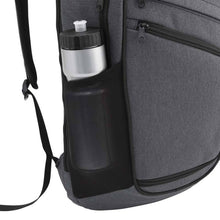 Load image into Gallery viewer, Side mesh water bottle pocket on Pro Series Everyday Backpack, Gray