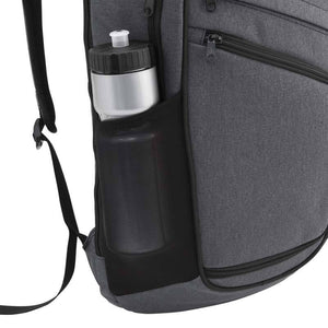Side mesh water bottle pocket on Pro Series Everyday Backpack, Gray