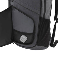 Load image into Gallery viewer, Front zippered organization pocket with mesh pouch on Pro Series Everyday Backpack, Gray