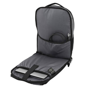 Laptop compartment and interior cable organization pocket of Pro Series Everyday Backpack, Gray