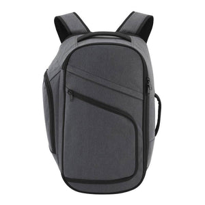 Front of Pro Series Large Comfort Laptop Backpack Gray