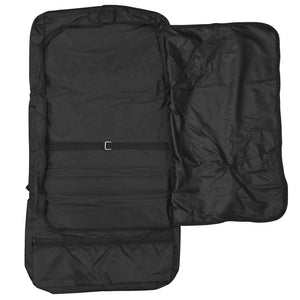 Empty fully opened main compartment showing spacious interior - Tri-Fold Garment Bag