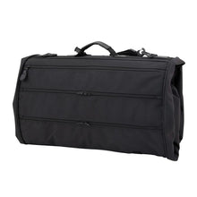Load image into Gallery viewer, Back showing multiple zippered pockets - Tri-Fold Garment Bag