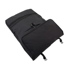Load image into Gallery viewer, Full view, one third folded - Tri-Fold Garment Bag