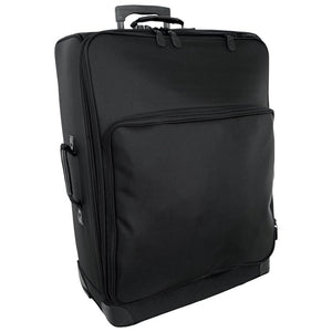 "Front with zippered pocket - 27"" Wheeled Upright, Black"