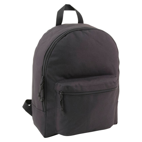 zoomed out view of Backpack, Black - mercury luggage