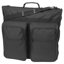 "Load image into Gallery viewer, 46"" Garment Bag, Black"