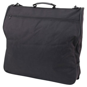 "Front with zippered pocket - 46"" Garment Bag, Black"