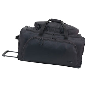Full view of Wheeled Duffel Bag, Black