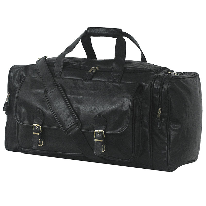 Full view of Large Club Bag, Black