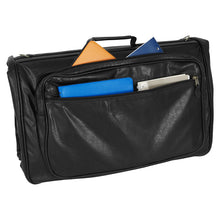 Load image into Gallery viewer, Side pockets holding various items - Tri-Fold Garment Bag - mercury luggage
