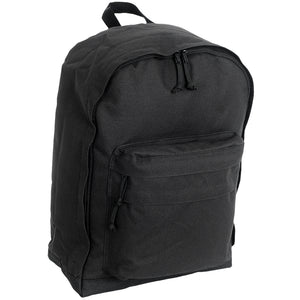 "18"" Backpack with Pockets, Black"
