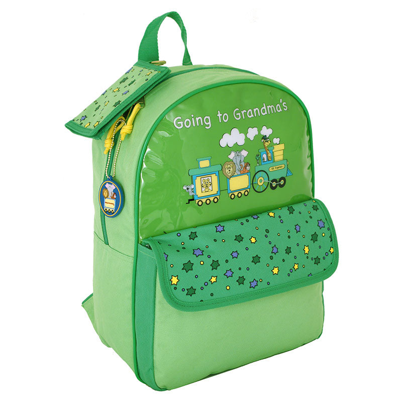 Going To Grandma's Backpack, Green
