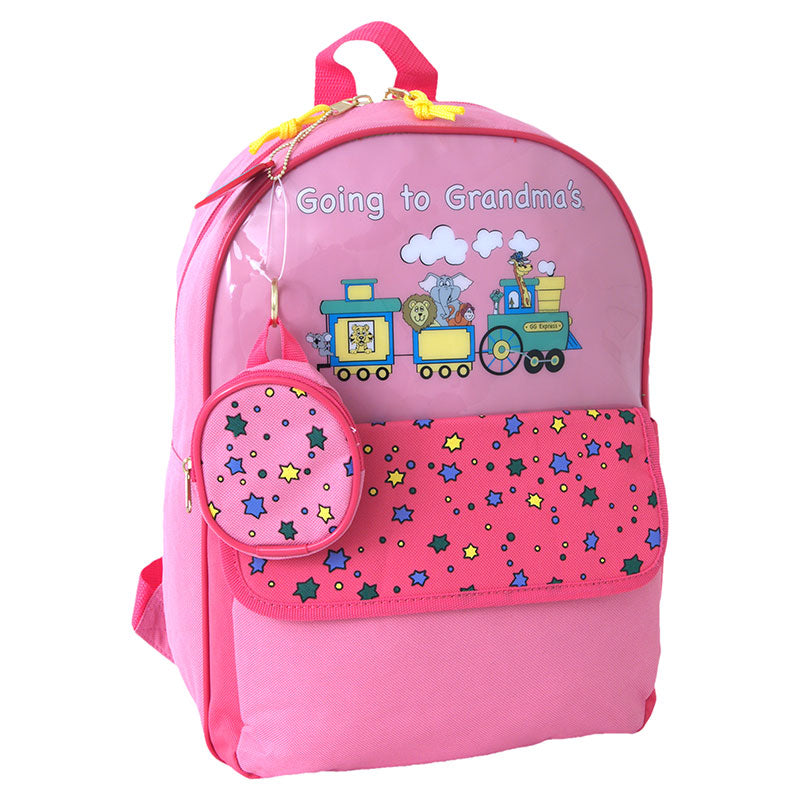 Going To Grandma's Backpack, Pink