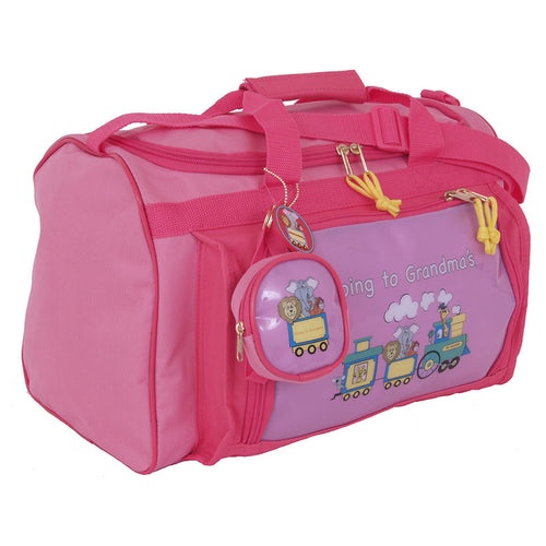 Going To Grandma's Duffel Bag, Pink