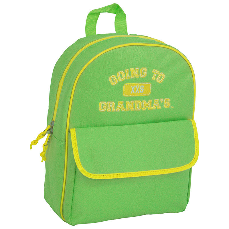 Going To Grandma's XXS Backpack, Green