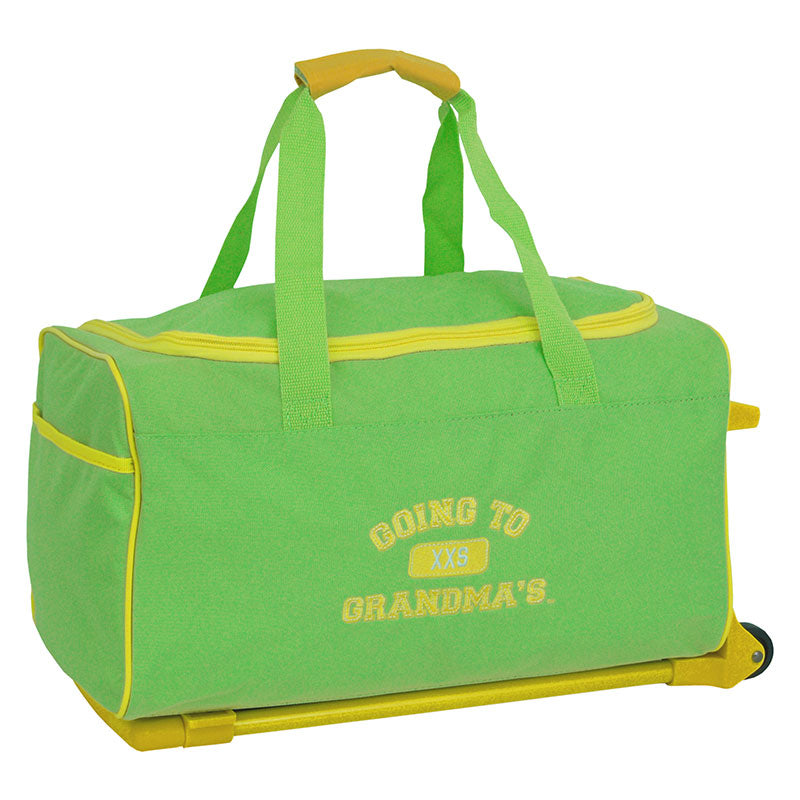 Going To Grandma's Duffel Bag, Green