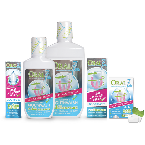Oral7® Dry Mouth Starter Kit - Gum Pack FREE!