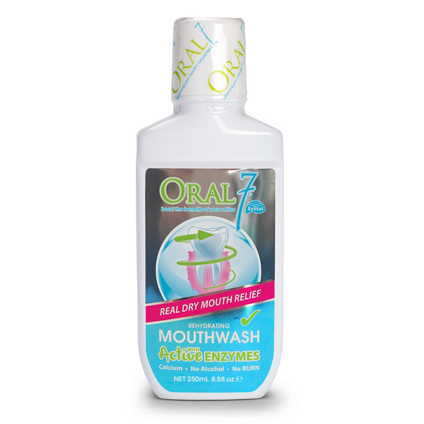 12 Pack - Oral7® Moisturizing Mouthwash - (8.5oz) Size - 2 Bottles FREE!