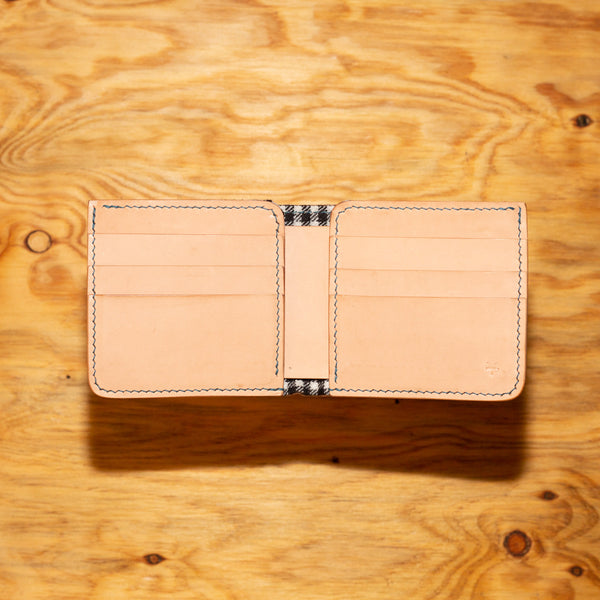 Bi-Fold Vincent Brothers Kangaroo Leather Wallet