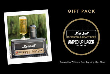 Amped Up Lager - Marshall Gift Pack