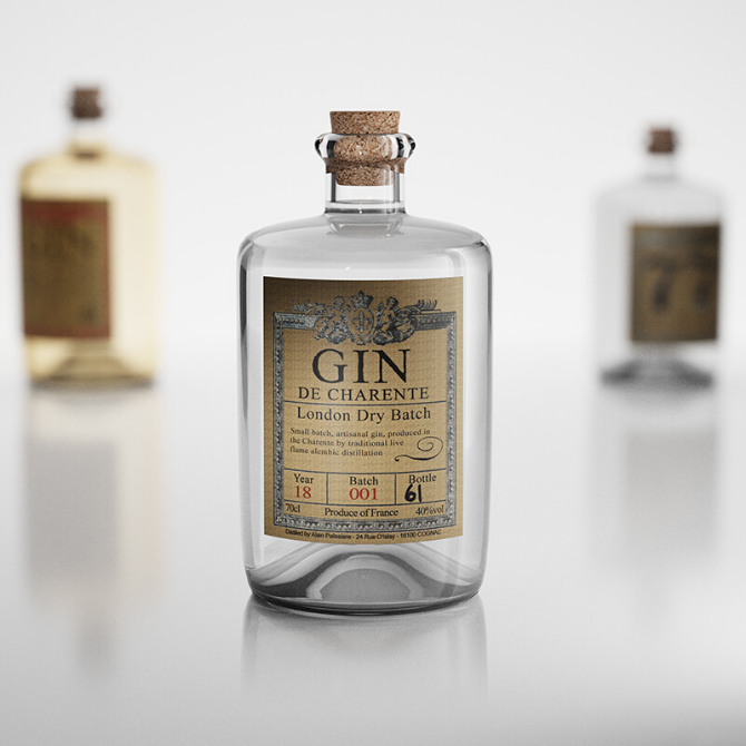 Gin De Charente - London Dry Batch