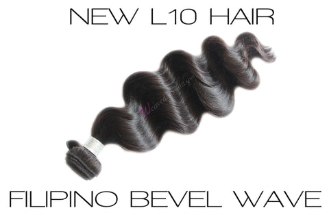 L10 Filipino Bevel Wave Hair