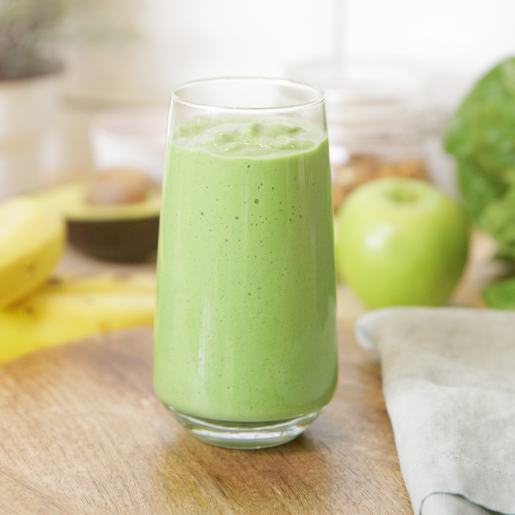 High fibre, gut loving green smoothie