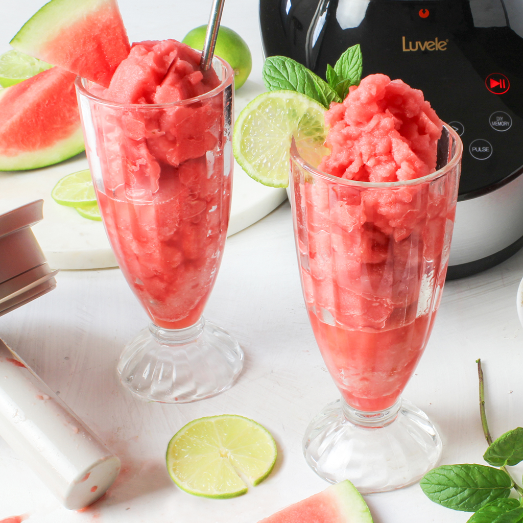 Summer loving watermelon slushy recipe