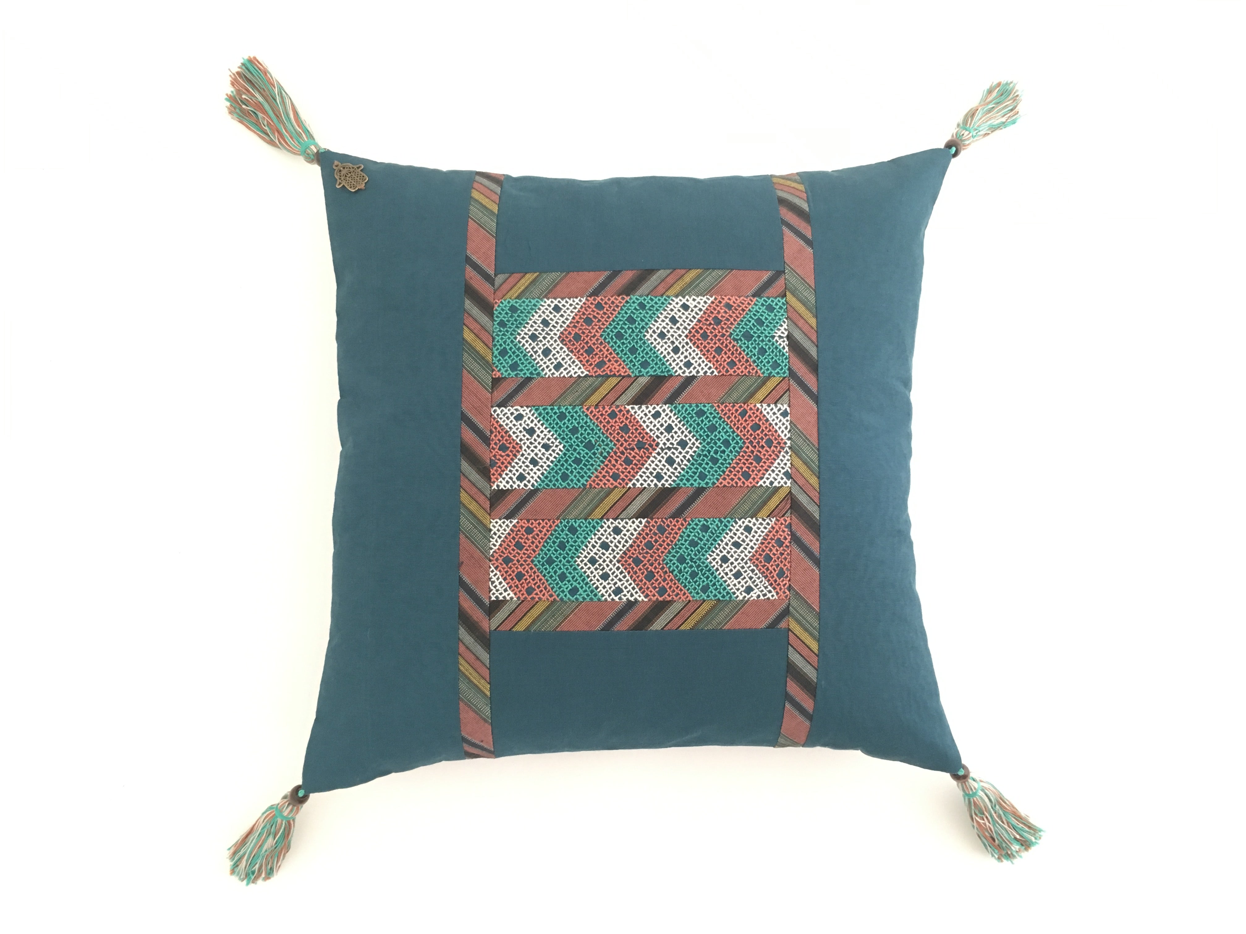 The Aqaba Throw Pillow