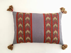 Desert Sunset Sky Lumbar Pillow