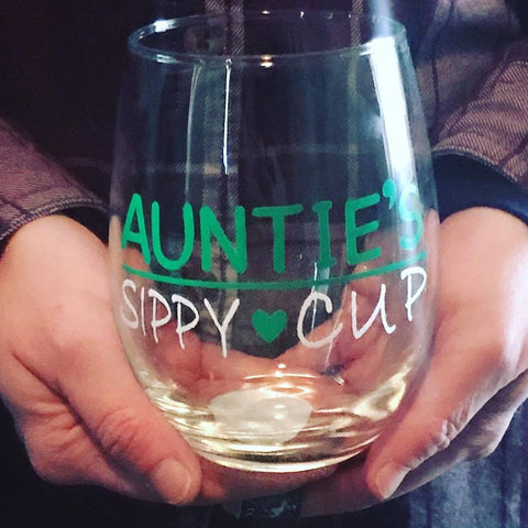 Auntie's Sippy Cup