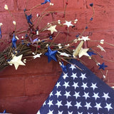 Red White & Blue Americana Wreath