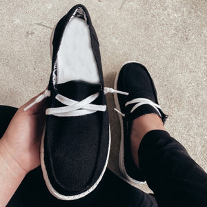 2020 Women Flats autumn Breathable Casual Shoes Woman Lace Up - Tania's Online Closet