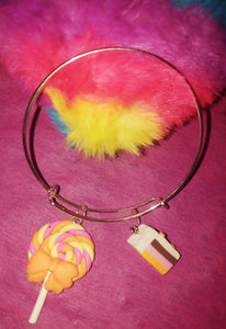 Candy Yummy Land Bangle Bracelets - Tania's Online Closet