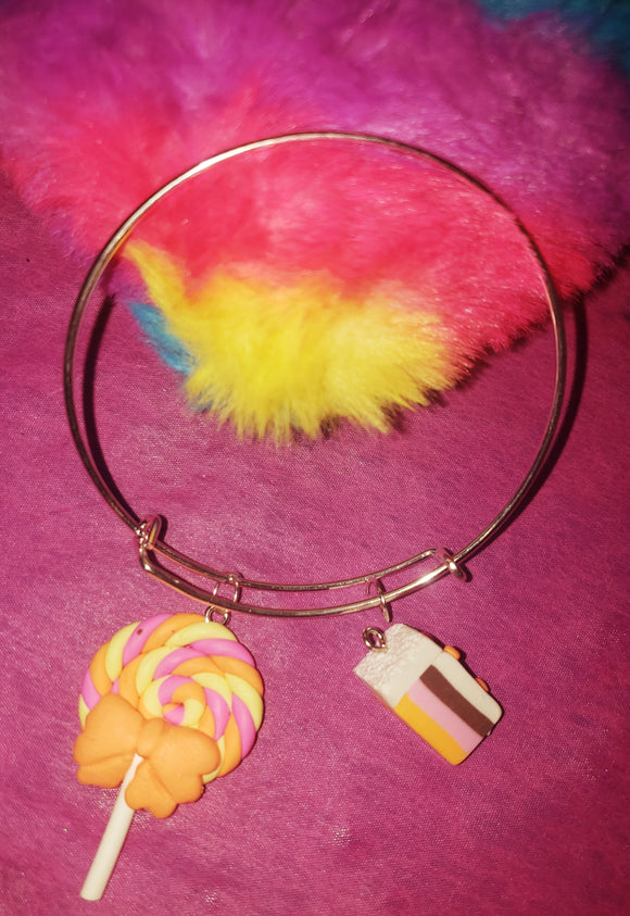 Candy Yummy Land Bangle Bracelets