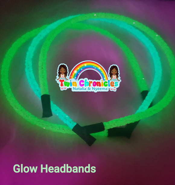 Glow in the Dark- Headbands - Tania's Online Closet, LLC